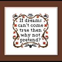 Free Over the Garden Wall Cross Stitch Pattern Sampler