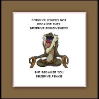 The Lion King Cross Stitch Pattern Rafiki's Words of Wisdom