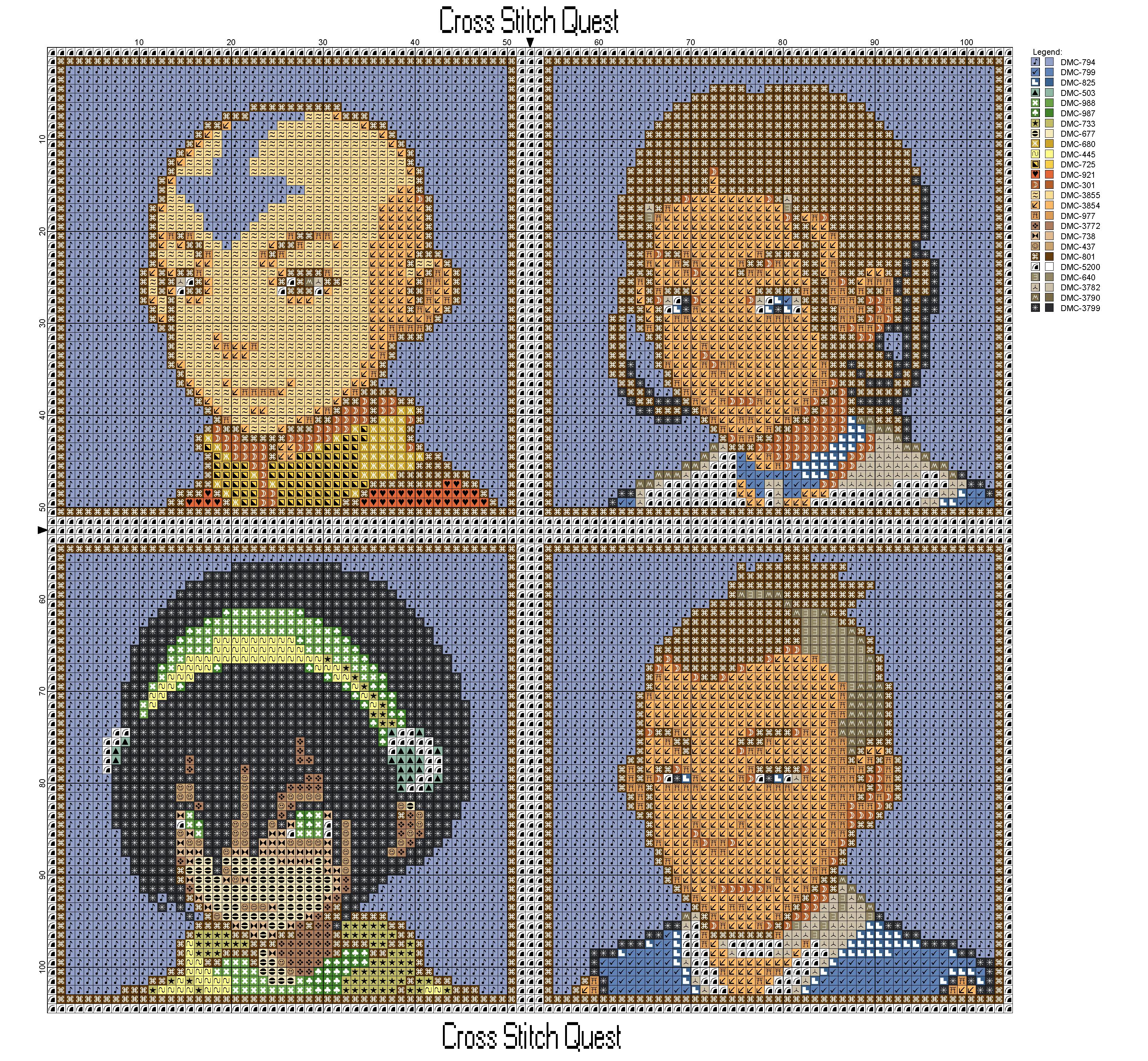 Avatar Cast Pattern Page 1