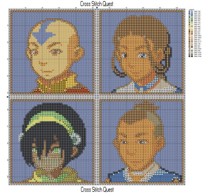 Avatar Cast Pattern_Page_1