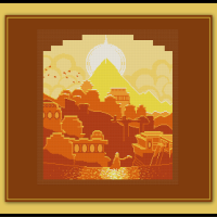 Free Journey Cross Stitch Pattern That Game Company