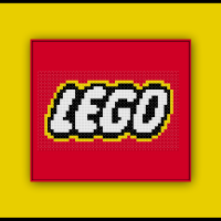 Free Lego Logo Cross Stitch Pattern