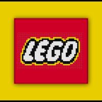Free Lego Logo Cross Stitch Pattern