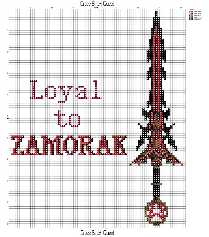 Zamorak Pattern_Page_1