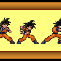 Free Goku Cross Stitch Pattern Dragon Ball Z Kamehameha