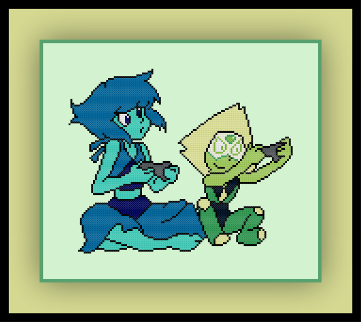 Lapis and Peridot Preview