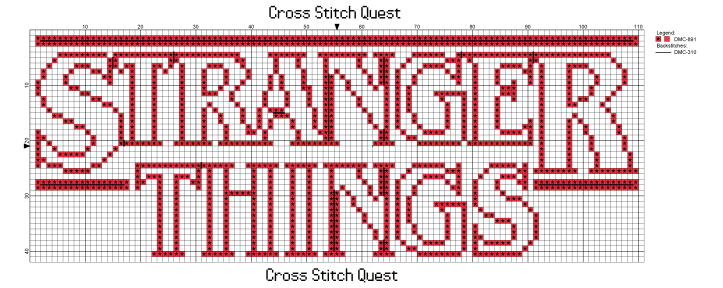 Stranger Things Pattern_Page_1