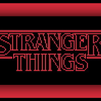 Free Stranger Things Cross Stitch Pattern Logo