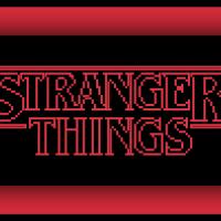 Free Stranger Things Cross Stitch Pattern Logo