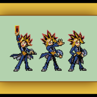 Free Yugioh Cross Stitch Pattern Yami Yugi