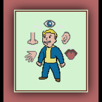 Free Fallout 4 Cross Stitch Pattern Perception Vault Boy