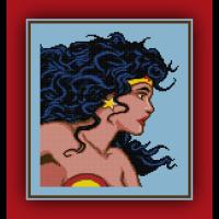 Free Classic Wonder Woman Cross Stitch Pattern and Review