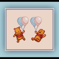 Free Winnie the Pooh Cross Stitch Pattern