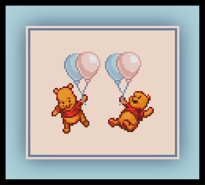 Pooh Balloons Preview