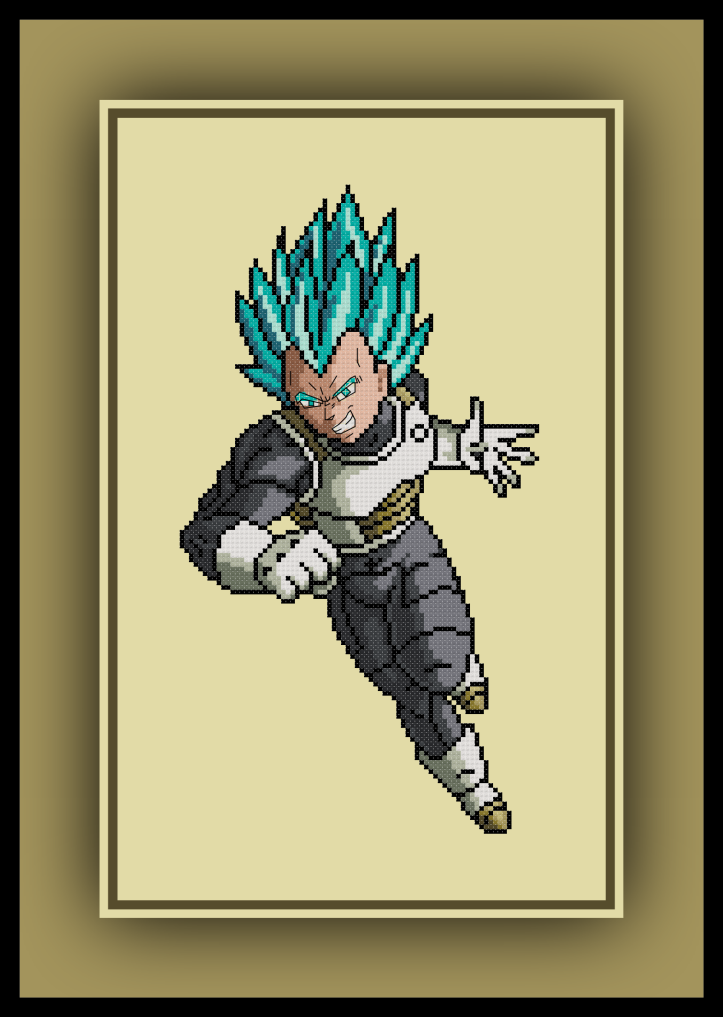 Vegeta Blue Preview