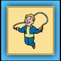 Free Fallout 4 Cross Stitch Pattern Endurance Vault Boy