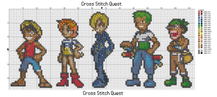 One Piece Cast Pattern_Page_1
