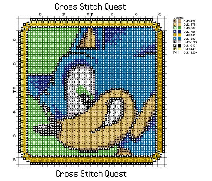 Sonic Portrait Pattern_Page_1