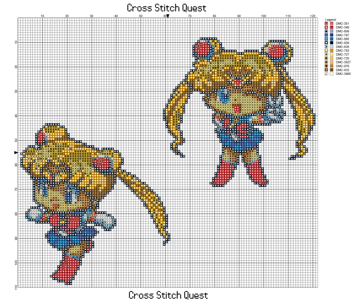Chibi Sailor Moon Pattern_Page_1