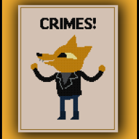 Free Night in the Woods Cross Stitch Pattern Gregg Crimes!