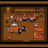 Free Undertale Cross Stitch Pattern Grillby's Pub