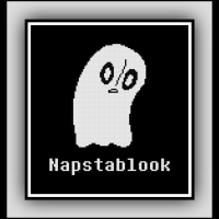 Free Napstablook Cross Stitch Pattern Undertale