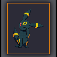 Free Umbreon Cross Stitch Pattern Pokemon Eeveelution