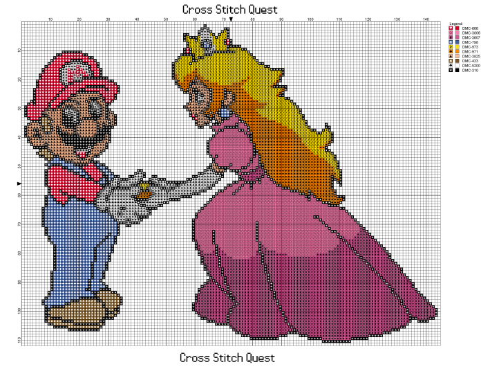 Peach and Mario Pattern_Page_1