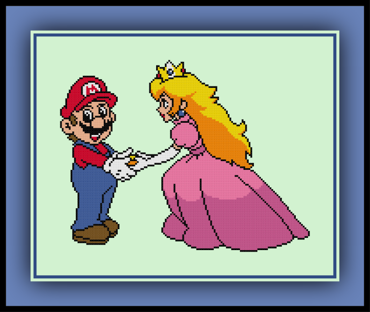 Peach and Mario Preview