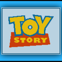 Free Toy Story Cross Stitch Pattern Logo