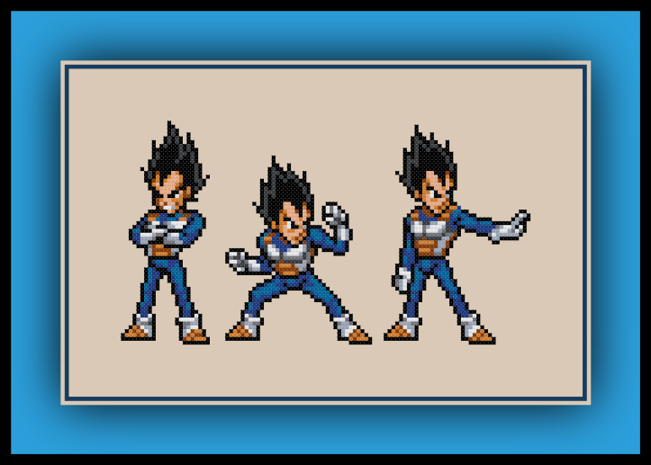 Vegeta Preview