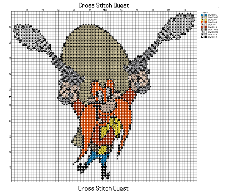 Yosemite Sam Pattern_Page_1