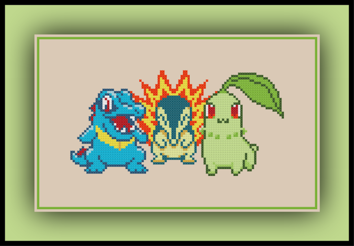 Johto Starters Preview