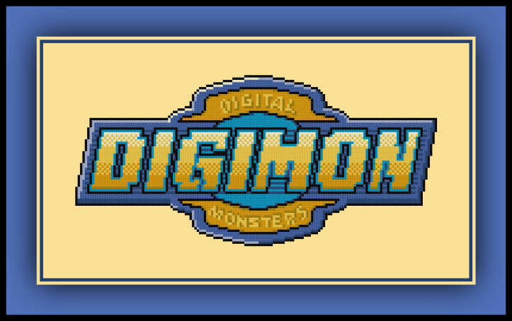 Digimon Logo Preview