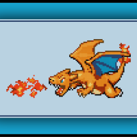 Free Charizard Cross Stitch Pattern Pokemon