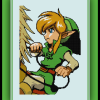 Free Epona and Link Cross Stitch Pattern The Legend of Zelda