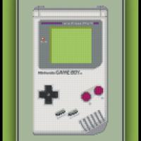 Free Game Boy Cross Stitch Pattern Original