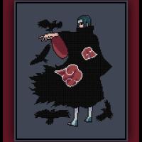 Patreon Only Itachi Uchiha Cross Stitch Pattern Naruto