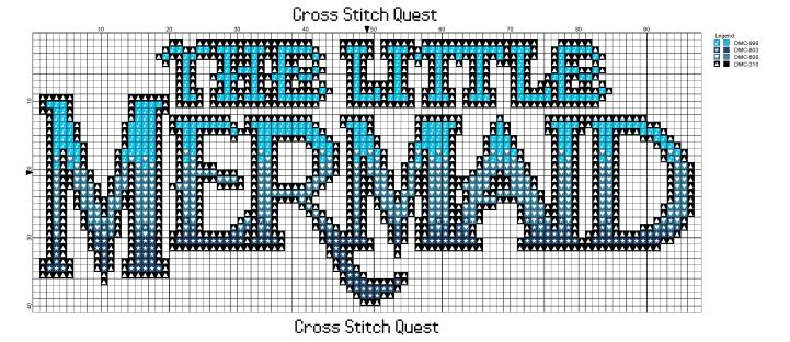 Little Mermaid Pattern_Page_1