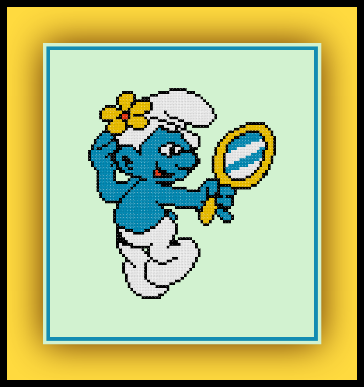 Vanity Smurf Preview