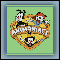 Patreon Only Animaniacs Cross Stitch Pattern Logo