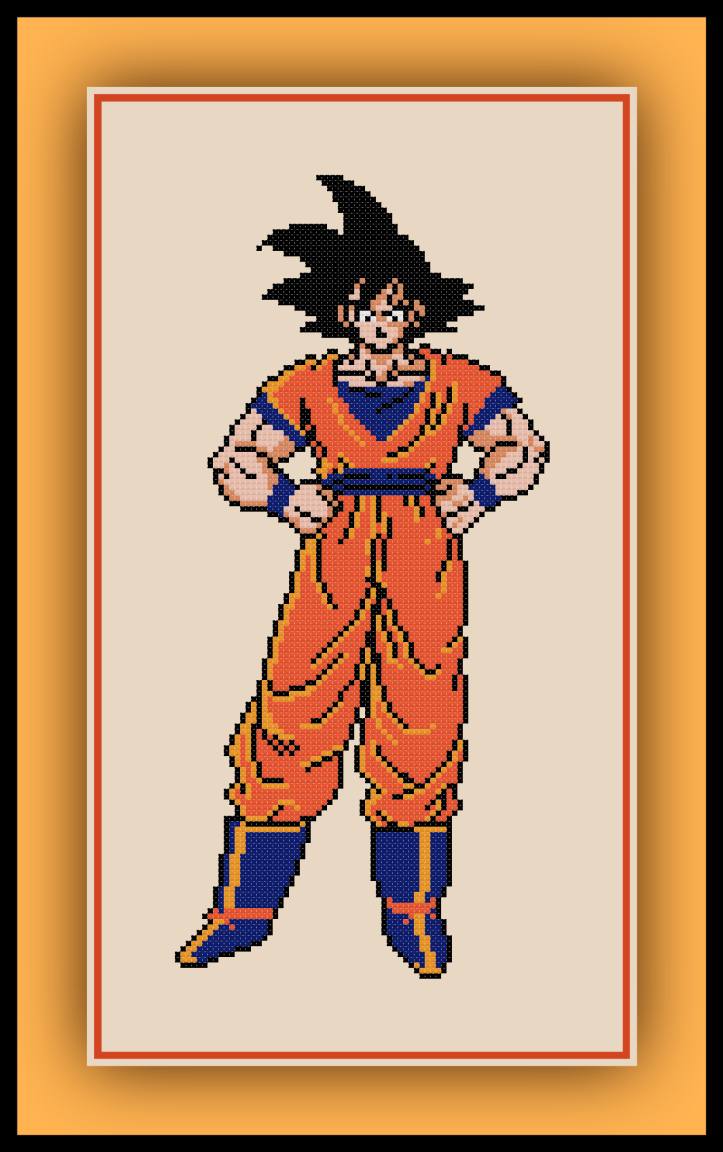Goku Standing Preview