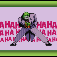 Free Joker Cross Stitch Pattern Batman