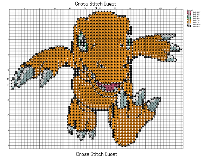 Agumon Pattern_Page_1