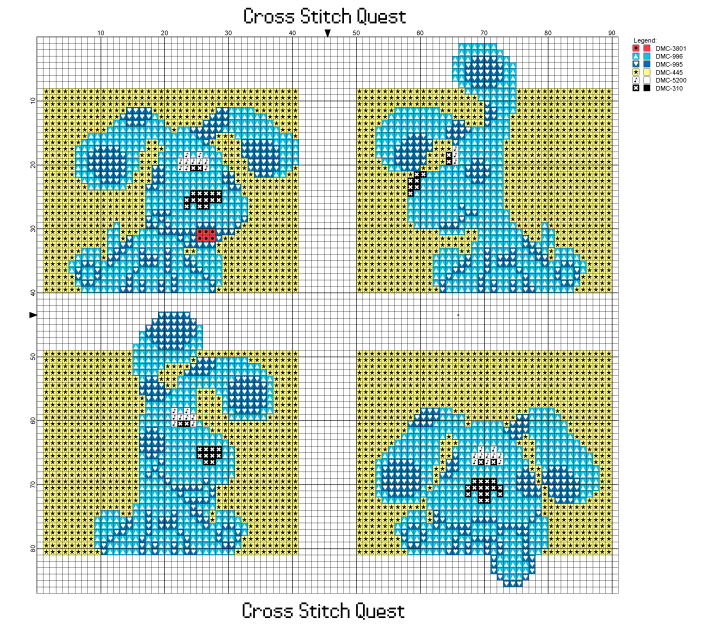 Blues Clues Pattern_Page_1
