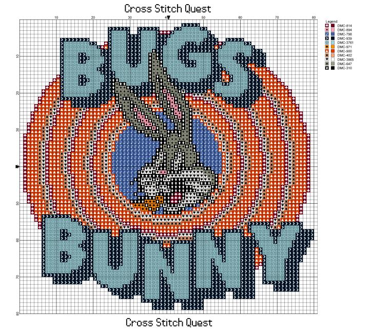 Bugs Bunny Circle Pattern_Page_1