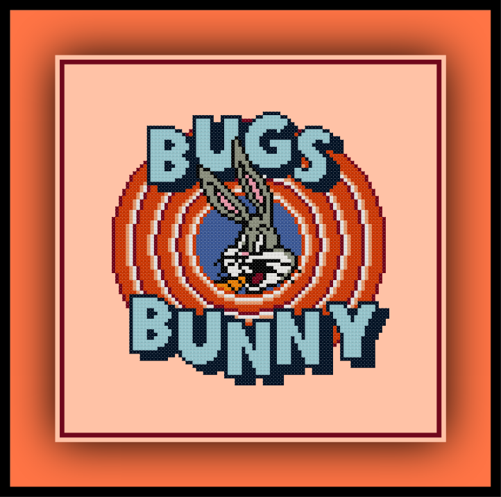 Bugs Bunny Circle Preview