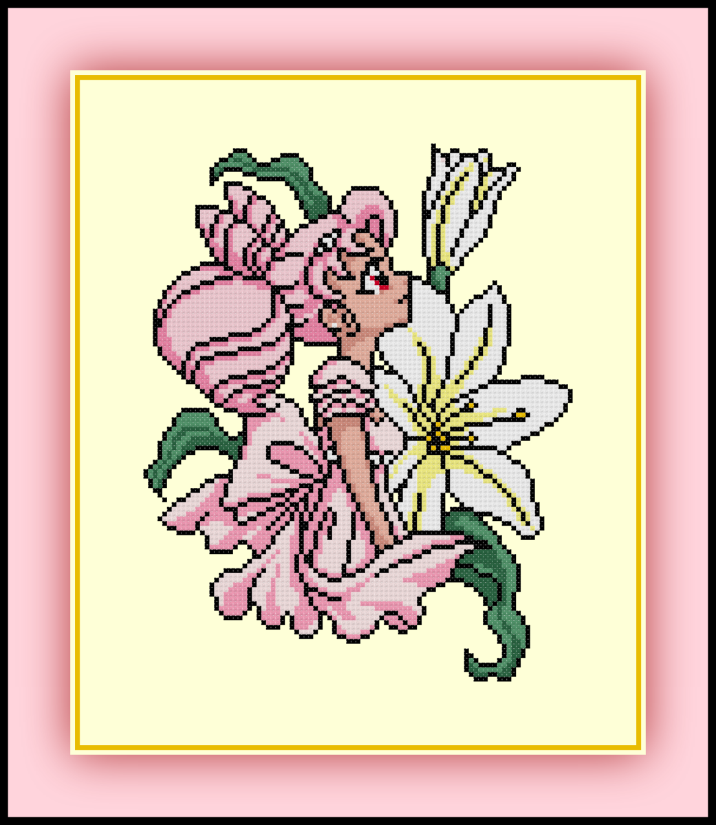Patreon Only Princess Chibi Moon Cross Stitch Pattern Sailor Moon