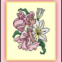 Patreon Only Princess Chibi Moon Cross Stitch Pattern Sailor Moon