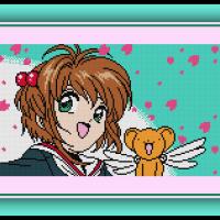 Free Cardcaptor Sakura Cross Stitch Pattern Sakura and Kero and AICO Incarnation Review